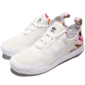 Adidas Originals Flux Halo Pink Floral Sneakers